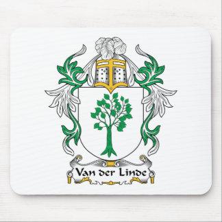 Escudo de Van der Linde Family Alfombrilla De Ratones