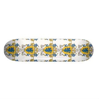 Escudo de Van der Meer Family Tablas De Skate
