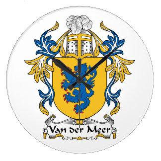 Escudo de Van der Meer Family Reloj
