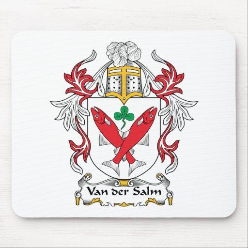 Escudo de Van der Salm Family Tapetes De Ratón