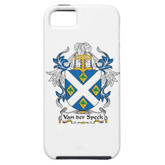 Escudo de Van der Speck Family iPhone 5 Funda