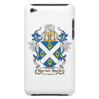 Escudo de Van der Speck Family Case-Mate iPod Touch Carcasas