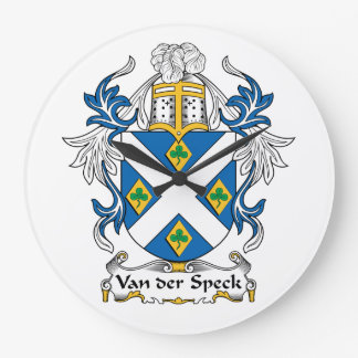 Escudo de Van der Speck Family Reloj