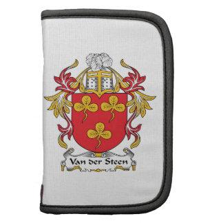 Escudo de Van der Steen Family Planificador