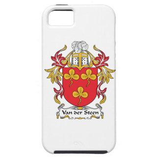 Escudo de Van der Steen Family iPhone 5 Case-Mate Carcasas