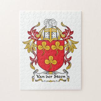 Escudo de Van der Steen Family Puzzle