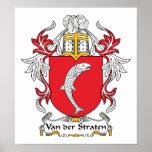 Escudo de Van der Straten Family Posters