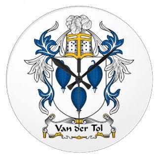 Escudo de Van der Tol Family Reloj
