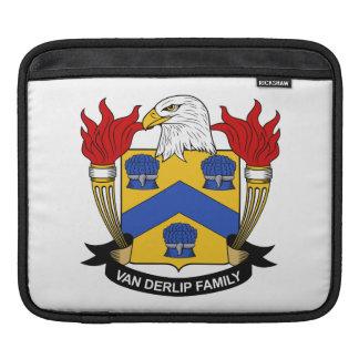 Escudo de Van Derlip Family Manga De iPad