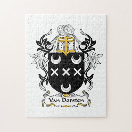 Escudo de Van Dorsten Family Puzzles Con Fotos