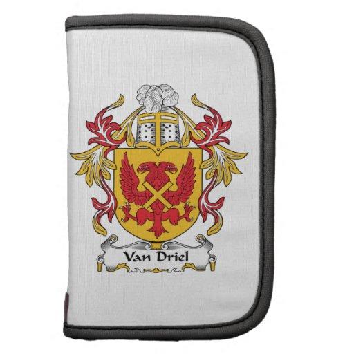 Escudo de Van Driel Family Planificador