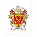 Escudo de Van Driel Family Postal