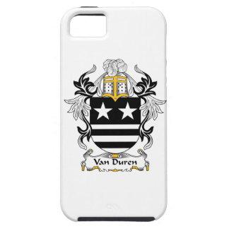Escudo de Van Duren Family iPhone 5 Protectores