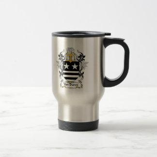 Escudo de Van Duren Family Tazas De Café