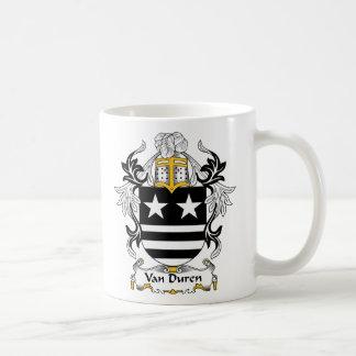 Escudo de Van Duren Family Taza De Café