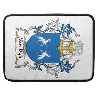 Escudo de Van Dyk Family Fundas Para Macbook Pro