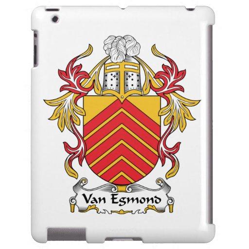 Escudo de Van Egmond Family Funda Para iPad