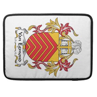 Escudo de Van Egmond Family Funda Para Macbooks