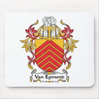 Escudo de Van Egmond Family Tapete De Ratones