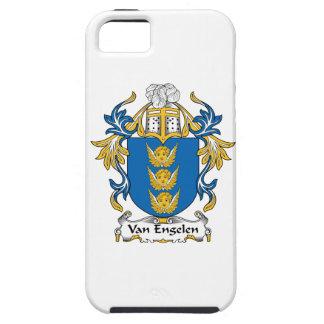 Escudo de Van Engelen Family iPhone 5 Protector