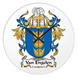 Escudo de Van Engelen Family Relojes