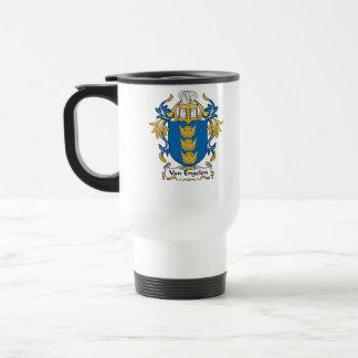 Escudo de Van Engelen Family Taza De Café