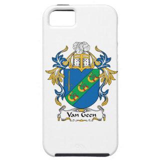 Escudo de Van Geen Family iPhone 5 Cárcasa
