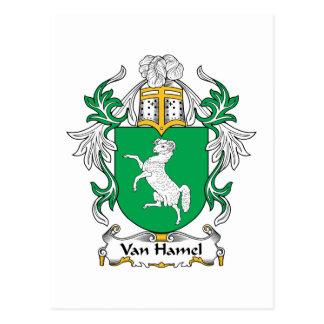 Escudo de Van Hamel Family Postal