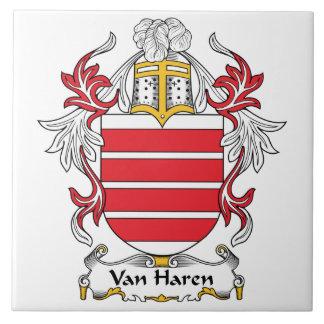 Escudo de Van Haren Family Tejas Cerámicas