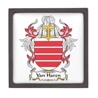 Escudo de Van Haren Family Cajas De Joyas De Calidad