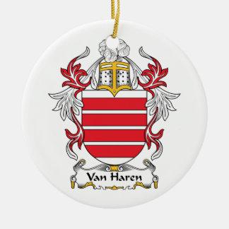 Escudo de Van Haren Family Adorno Para Reyes