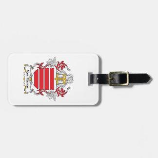 Escudo de Van Haren Family Etiquetas Para Equipaje