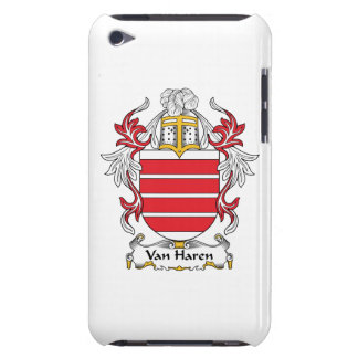 Escudo de Van Haren Family iPod Case-Mate Carcasa