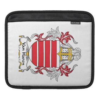 Escudo de Van Haren Family Fundas Para iPads
