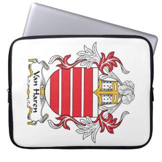 Escudo de Van Haren Family Fundas Computadoras