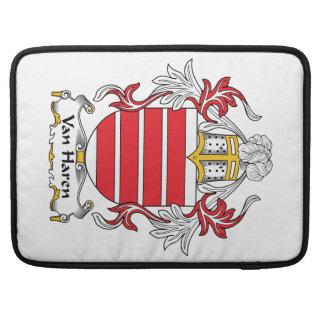 Escudo de Van Haren Family Fundas Macbook Pro