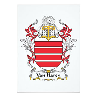 Escudo de Van Haren Family Invitacion Personalizada