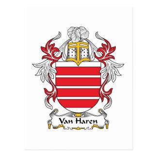 Escudo de Van Haren Family Postal