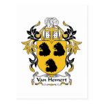Escudo de Van Hemert Family Postal