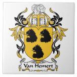 Escudo de Van Hemert Family Teja Cerámica