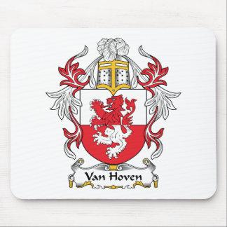 Escudo de Van Hoven Family Tapete De Ratón
