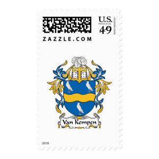 Escudo de Van Kempen Family Sello