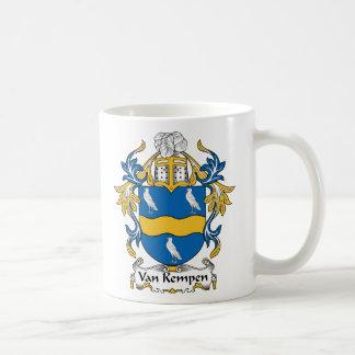 Escudo de Van Kempen Family Taza De Café