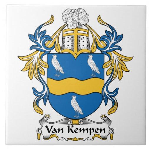 Escudo de Van Kempen Family Tejas