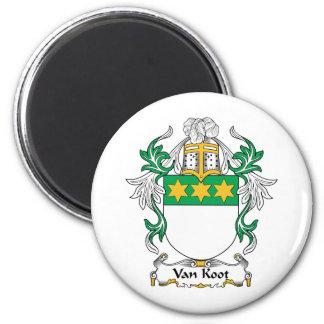 Escudo de Van Koot Family Imán Redondo 5 Cm