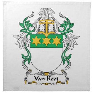 Escudo de Van Koot Family Servilleta De Papel