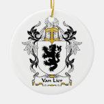 Escudo de Van Lier Family Adorno Para Reyes
