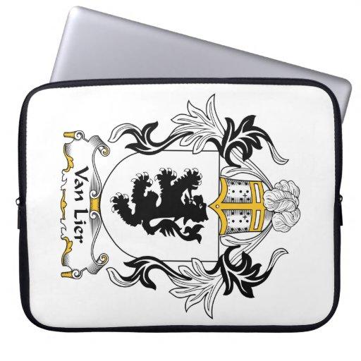 Escudo de Van Lier Family Funda Ordendadores