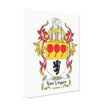 Escudo de Van Lingen Family Impresiones En Lienzo Estiradas