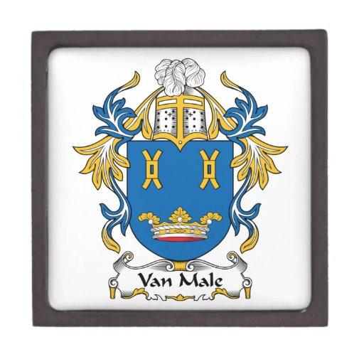 Escudo de Van Male Family Caja De Regalo De Calidad